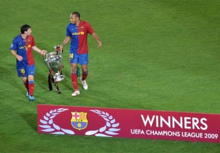 Messi y Titi