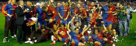 El F.c. Barcelona, Campeón de Copa